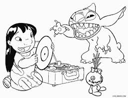 Printable Lilo And Stitch Coloring Pages For Kids Cool2bkids