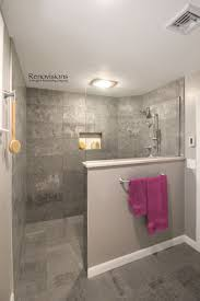 Large Shower Design Ideas A Completed Master Bathroom Remodel By Renovisions Walk In