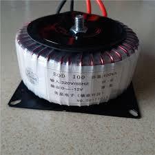 12V 8.3A Ring <b>transformer</b> 100VA <b>220V input</b> copper custom ...