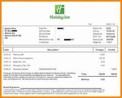 Invoice - Fake Selva Hotel 3 Reinadela