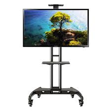 Commercial Tv Display Stands Adorable TV Cart NB32 North Bayou AV