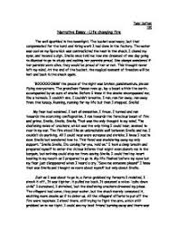 narritive essay writing a good narrative for college narrative essay example college
