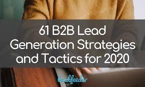 Semi Sweet Designs Coupon Code 61 B2b Lead Generation Strategies And Tactics For 2020