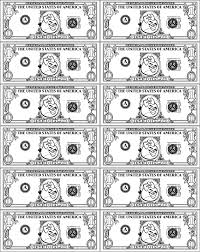 Printable Money Coloring Pages Coloringmecom
