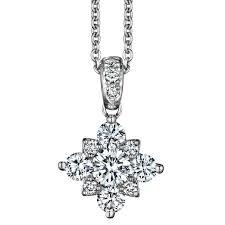 morton rudolph snowflake diamond cer pendant cherry hill nj