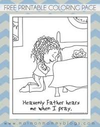 Small Picture Primary Coloring Pages Amazing Lds Prayer Coloring Page Coloring