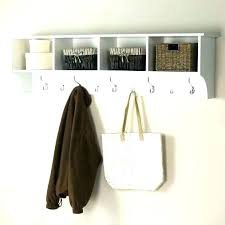 wall shelf with hooks wall coat rack with shelf hook hooks chic storage furniture white wall