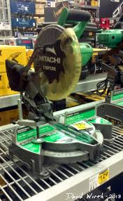 hitachi 12 miter saw. hitachi c10fce2 miter saw, price $130, lowes 12 saw n