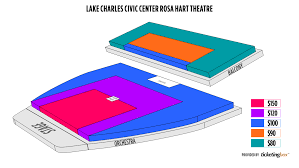 Civic Theater Seating Chart Lake Charles Lake Charles Civic Center Rosa Hart Theatre