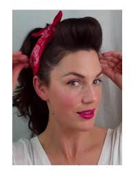 50s style hair and makeup photo 1