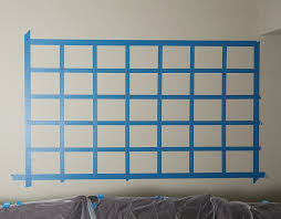 how to paint chalkboard calendar on the wall