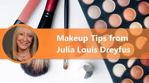 makeup tips for women over 60 julia louis dreyfus makeup tips for women over 50 you