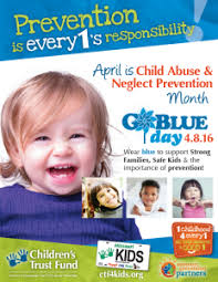 child abuse flyers child abuse neglect prevention month 2016 childrens trust fund of