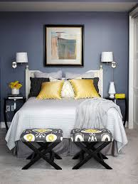 grey and yellow bedroom. blue grey and yellow bedroom photo - 5