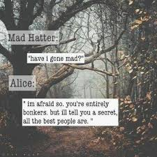 Mad Hatter Quotes Extraordinary Mad Hatter Quotes Mad Hatter Sayings Mad Hatter Picture Quotes