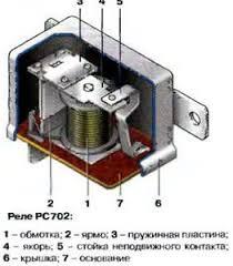 реле контрольной лампы заряда Реле контрольной лампы заряда