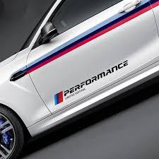 <b>2PCS 5.8*50cm Car Styling Stickers</b> M Performance Limited Edition ...