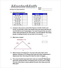 grade math algebra worksheet equation worksheets for 7th free pre