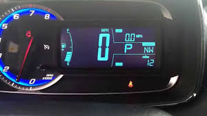 2016 Chevy Trax Reset Oil Light How To Get To Your Trip Meter On Your New Trax Thank You Karrie