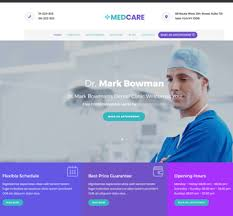 Medcare Medical Website Templates Free Download Themefisher