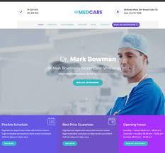 Website Templates Free Mesmerizing Medcare Medical Website Templates Free Download Themefisher