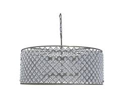 cassiel crystal drum chandelier extra large light up my home within crystal drum