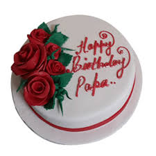 Birthday Cake For Papa In Faridabad Eggless Free Delivery