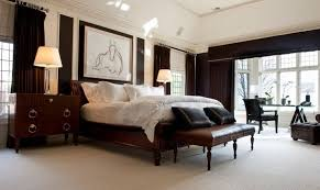 bedroom with dark furniture. This Absolutely Stunning Room Takes A Bold And Calculated Risk With The Numerous Dark Curtains Bedroom Furniture O