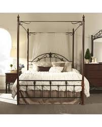 Score Big Savings: Three Posts Wedgewood Canopy Bed THRE8807 Size: Queen