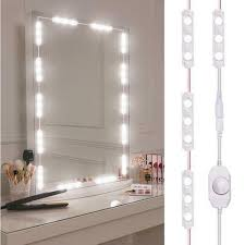 led vanity makeup mirror lights kit