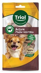 Купить Лакомство доя собак <b>Triol легкое говяжье</b>, 30 г с доставкой ...