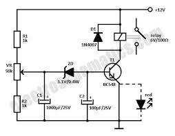 12v time delay relay circuit 12v relay schematic time delay relay circuit schematic