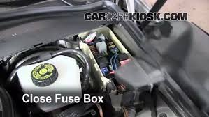 blown fuse check 2003 2009 mercedes benz e350 2008 mercedes benz 6 replace cover secure the cover and test component