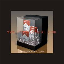 Acrylic Product Display Stands Best Clear Acrylic Cigarette Display StandPacking Box With Logo Buy