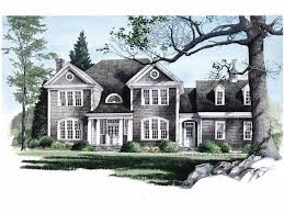 New England House Plans at eplans com   Colonial and Shingle Style    HWEPL