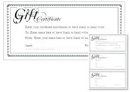Gift Card Word Template Free Gift Card Template