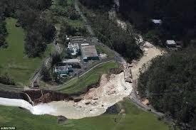 بورتوريكو - مخاوف من انهيار سد على نهر جواخاتكا