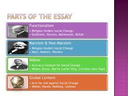 social change essay  social change• weber nanda redding lehman 2