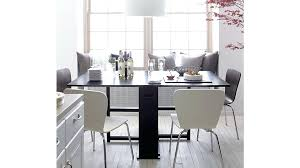 crate and barrel dining room furniture black and white side chair inspiring dining reviews crate barrel