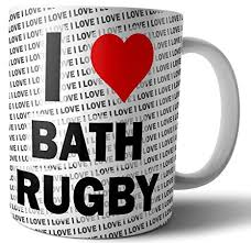 i love bath rugby tea coffee mug cup birthday christmas gift amazon co uk kitchen home