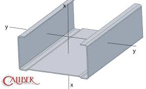 Drywall Studs and Track Caliber Metals