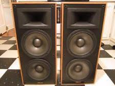 vintage klipsch bookshelf speakers. pair of vintage klipsch kg 4.2 clear oak speakers in very good working condition bookshelf