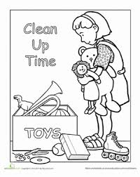 806cd5f39744d289e025891f7b9d9345 clean up after yourself search, coloring pages and children on get outta your mind and into your life worksheets