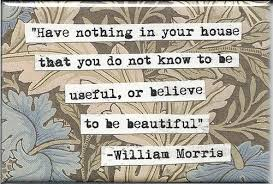 William Morris Quote Beautiful Useful