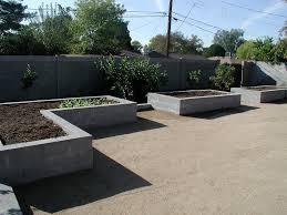 raised garden bed concrete block vynnie the gardner flickr