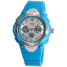 PASNEW Water-proof 100m Dual Time Unisex <b>Child Outdoor Sport</b> ...