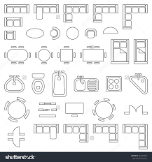 Architectural Floor Plan Door Symbols