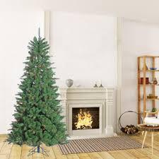 trim a home 7 5 multicolor pre lit mountain spruce tree