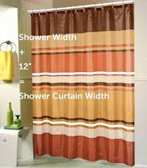 measuring the perfect shower curtain height stall size curved shower curtain rod bathroom furniture stall size