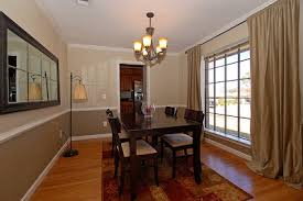 dining room painting ideasbenedetina Dining Rooms With Chair Rail Paint Ideas
